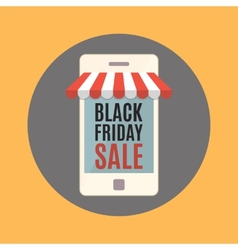 Black friday sale concept vector image