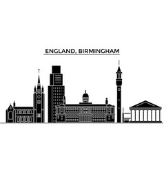 England birmingham architecture city vector