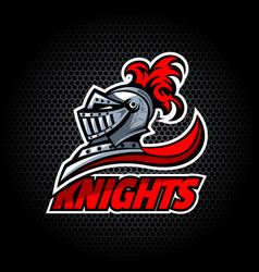 Knights offer logo vector