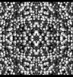monochrome glitch seamless pattern vector image