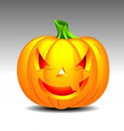 On a halloween theme vector