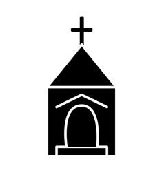 Small church icon sign o vector
