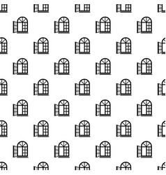 Window frame pattern seamless vector