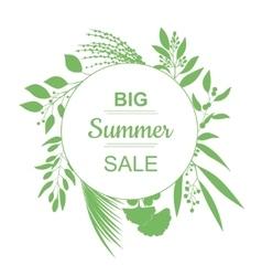 Big Summer Sale Banner vector image