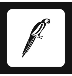Parrot icon simple style vector image vector image