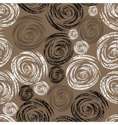 seamless beige grunge rose pattern vector image vector image