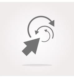 abstract arrow sign icon Arrows symbol Icon for vector image
