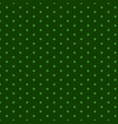 clover leaf hand drawn doodle seamless set pattern vector image