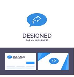 Creative business card and logo template basic vector
