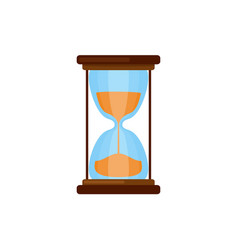 simple hourglasses icon vector image