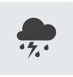 Storm icon vector image