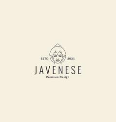 Women javanese logo symbol icon design vector
