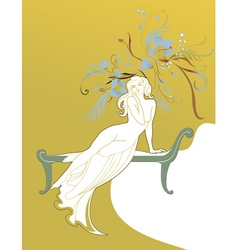 fairy princess vector image vector image