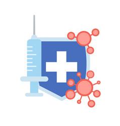 Epidemic mers-cov floating influenza suringe vector