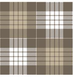 gray tartan plaid scottish pattern vector image