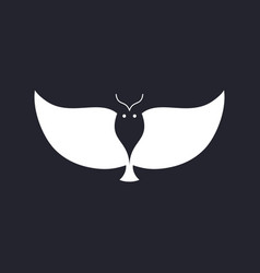 Owl icon vector