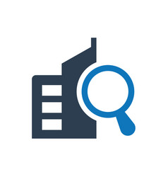 Search local seo icon vector