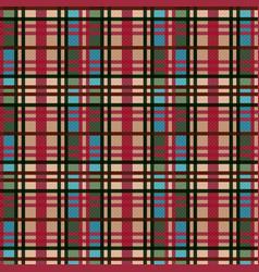 Tartan plaid for textile vector