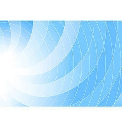Blue colored swirl background - abstraction vector image vector image