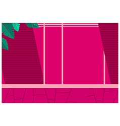 Pink Wall Pattern vector image