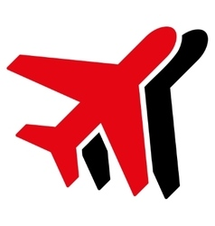 Airplanes Flat Icon vector