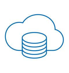 Cloud saving storage vector