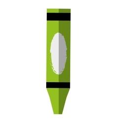crayon school supply isolated icon vector image