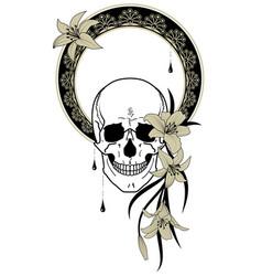 Deaths head vector