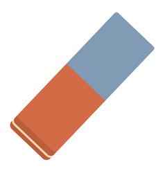 Eraser icon flat style vector