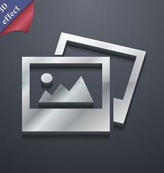 File JPG icon symbol 3D style Trendy modern design vector image