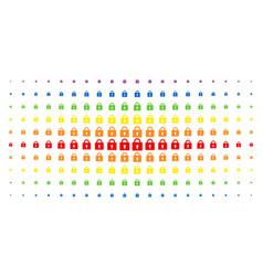 Lock spectral halftone matrix vector