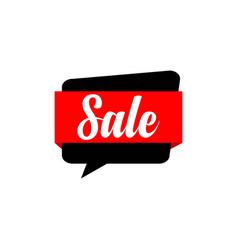 sale template design vector image