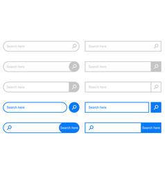 Search bar for ui vector