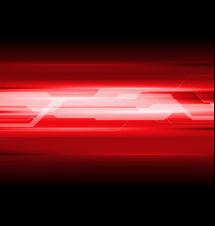 Dark red technical abstract background vector image vector image