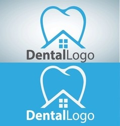 dental logo 8 vector image