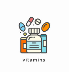 healthy diet icon vector image