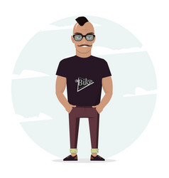 Man character for your scenes for design work and vector