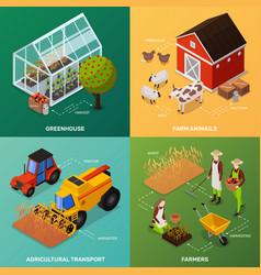 Organic farming design concept vector