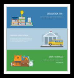 Primary Education Banners vector image