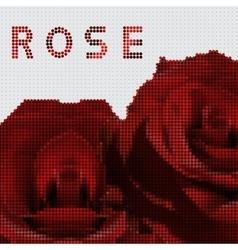 Screw design - rose vector