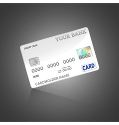 Template credit card vector
