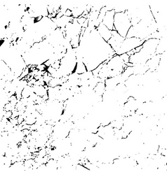 Grunge marble texture white and black 1 vector image