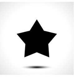star shape icon symbol vector image vector image