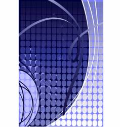 abstract blue vibrant background vector image
