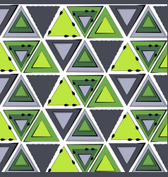 abstract minimal background green tribal vector image