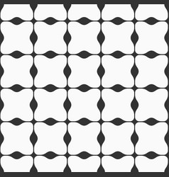 abstract seamless geometric pattern with wavy vector image