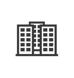 apartments icon vector image