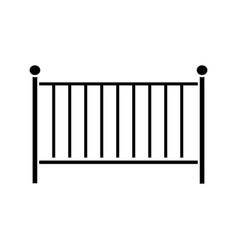 Crib glyph icon vector