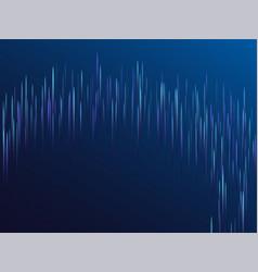 digital blue lines streams visual optic technology vector image