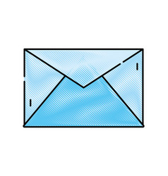 Grated e-mail letter message text design vector